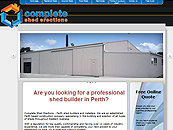 Complete Shed Erections